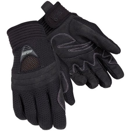 Tour Master Airflow Women's Textile On-Road Motorcycle Gloves - Black / Medium, Size: Medium By Tourmaster from (Tour Master Motorcycle Bags)