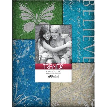 - Timeless Frames Trendz Believe Decoupage Tabletop Photo Frame