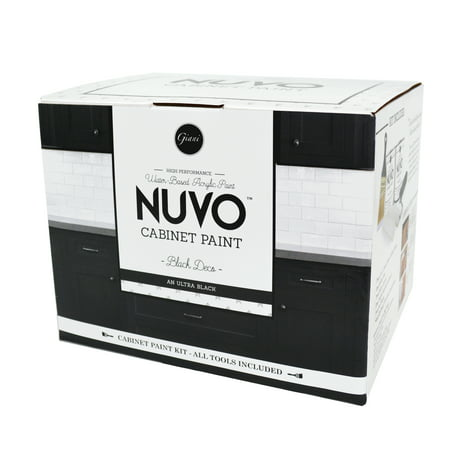Deco Point - Nuvo Black Deco Cabinet Makeover Paint Kit