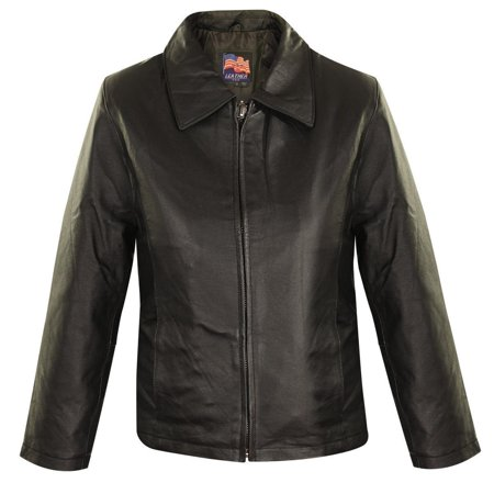Fashion Leather Jacket (USA Leather USA 1251-Black Women's Black Leather Fashion Jacket Black Small )