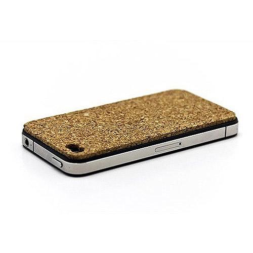 SlickWraps Skin for iPhone 4, Cork Board