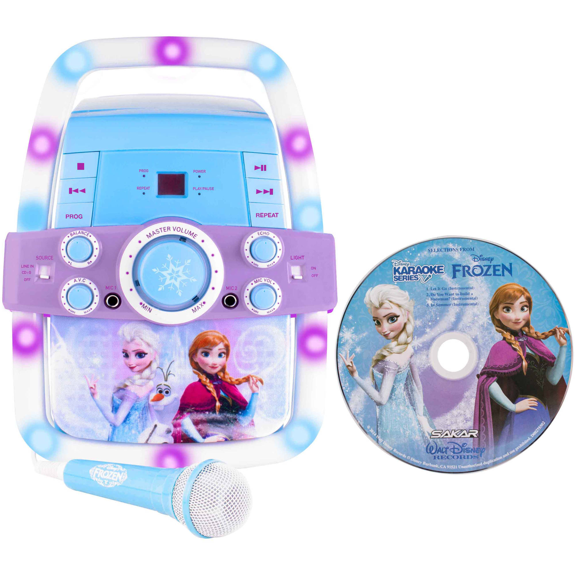 Frozen, Princess, Hello Kitty, & The Voice Flashing Bar Karaoke by Sakar International