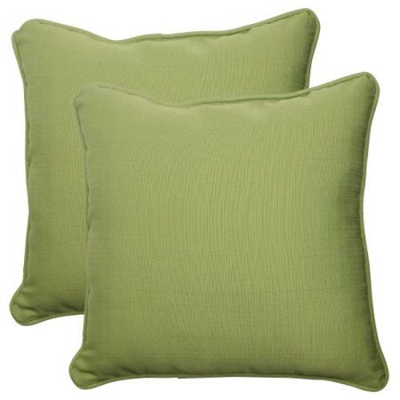 Pillow Perfect Outdoor/ Indoor Forsyth Green 18.5-Inch Throw Pillow (Set of 2)