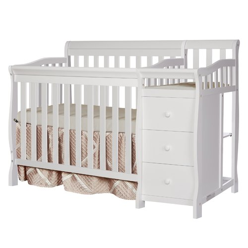 Dreamonme Jayden 2-in-1 Convertible Mini Crib