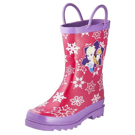 Disney Frozen Girls Anna and Elsa Pink Rain Boots (Toddler / Little Kids)](Disney Frozen Shoes)