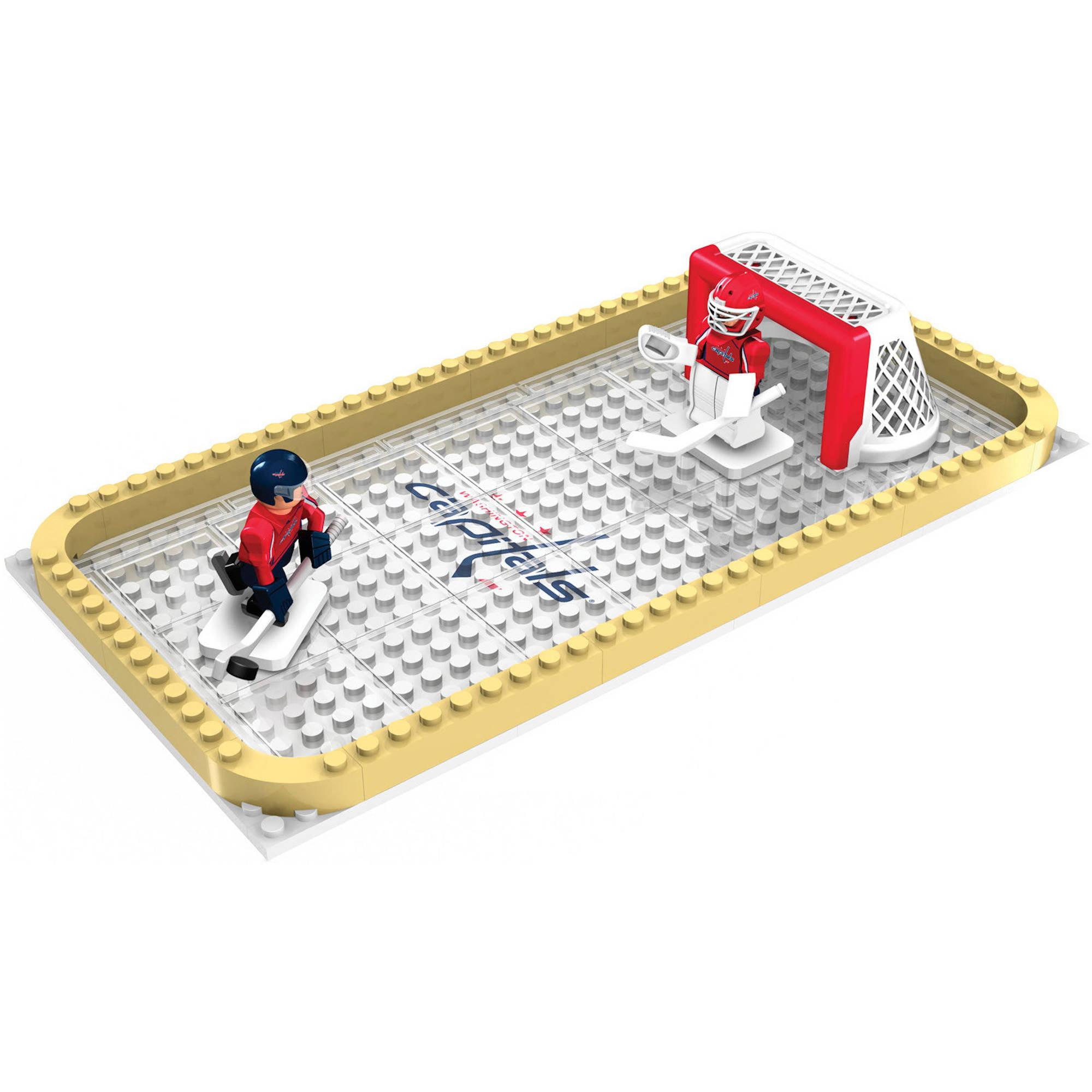 Oyo Sports Nhl 100 Piece Backyard Rink Set Washington Capitals Walmart Com Walmart Com Backyard rink kit walmart