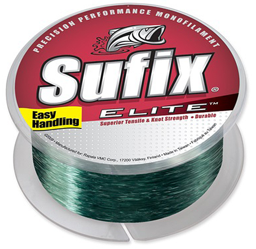 Sufix Elite 20 lb Test Fishing Line (330 yds)