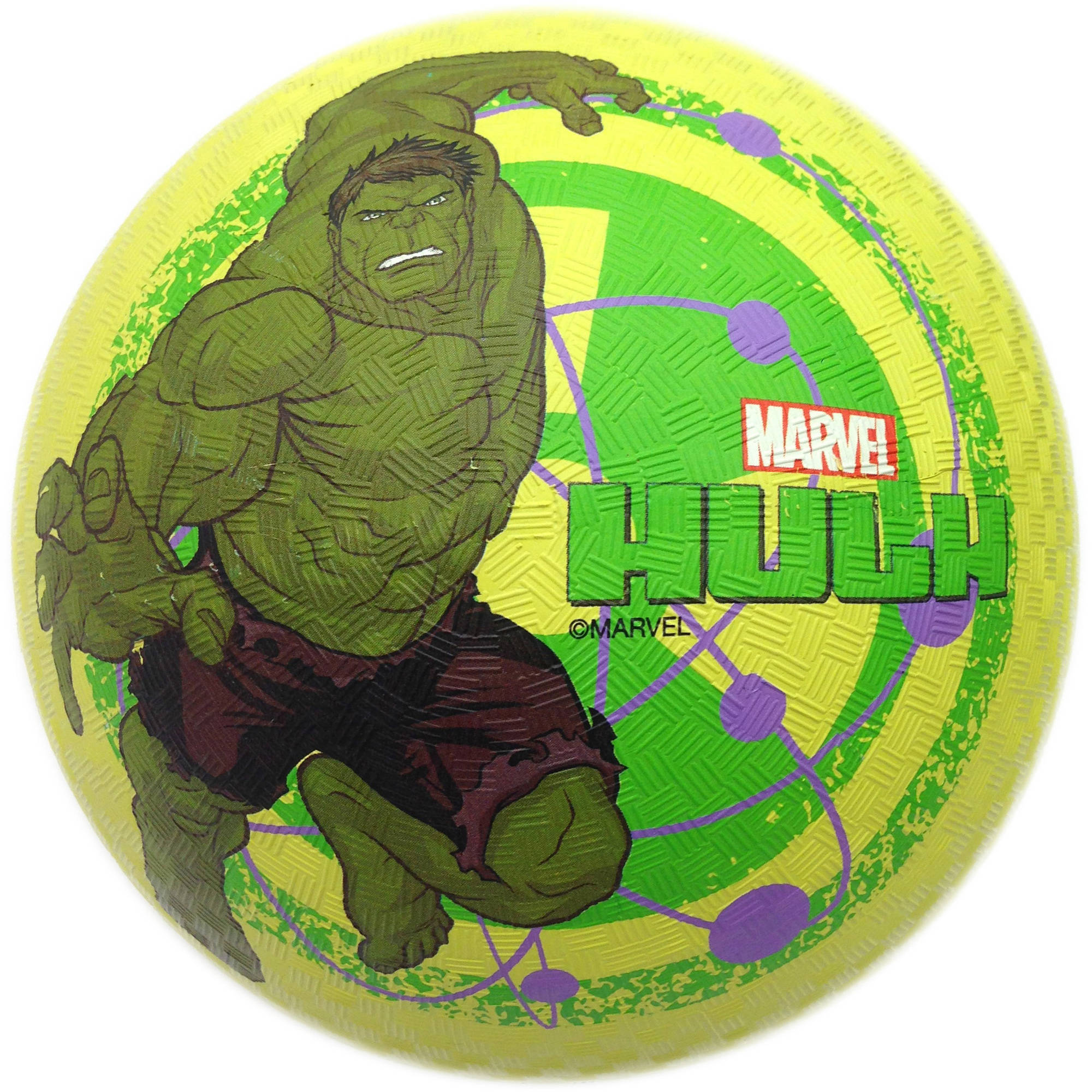 Hulk Rubber Playground Ball, 8.5""