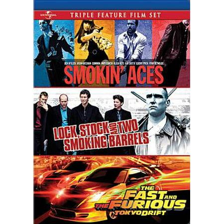 Smokin' Aces / Lock, Stock & Two Smoking Barrels / Fast & Furious: Tokyo Drift (Lock Stock And Two Smoking Barrels Rating)