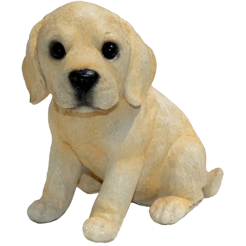 "Michael Carr Designs 8.2"" Shadow Black Labrador Puppy, Small"