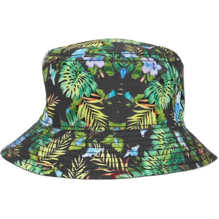 b403655902c Men s Floral Bucket Hat - Walmart.com