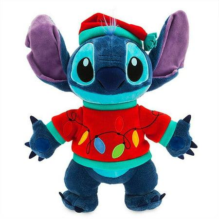 Disney Store Stitch Light-Up Holiday Medium Plush New with Tags