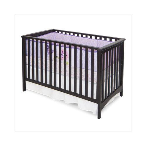 Bundle-42 Child Craft London Stationary Crib in Jamocha (2 Pieces)