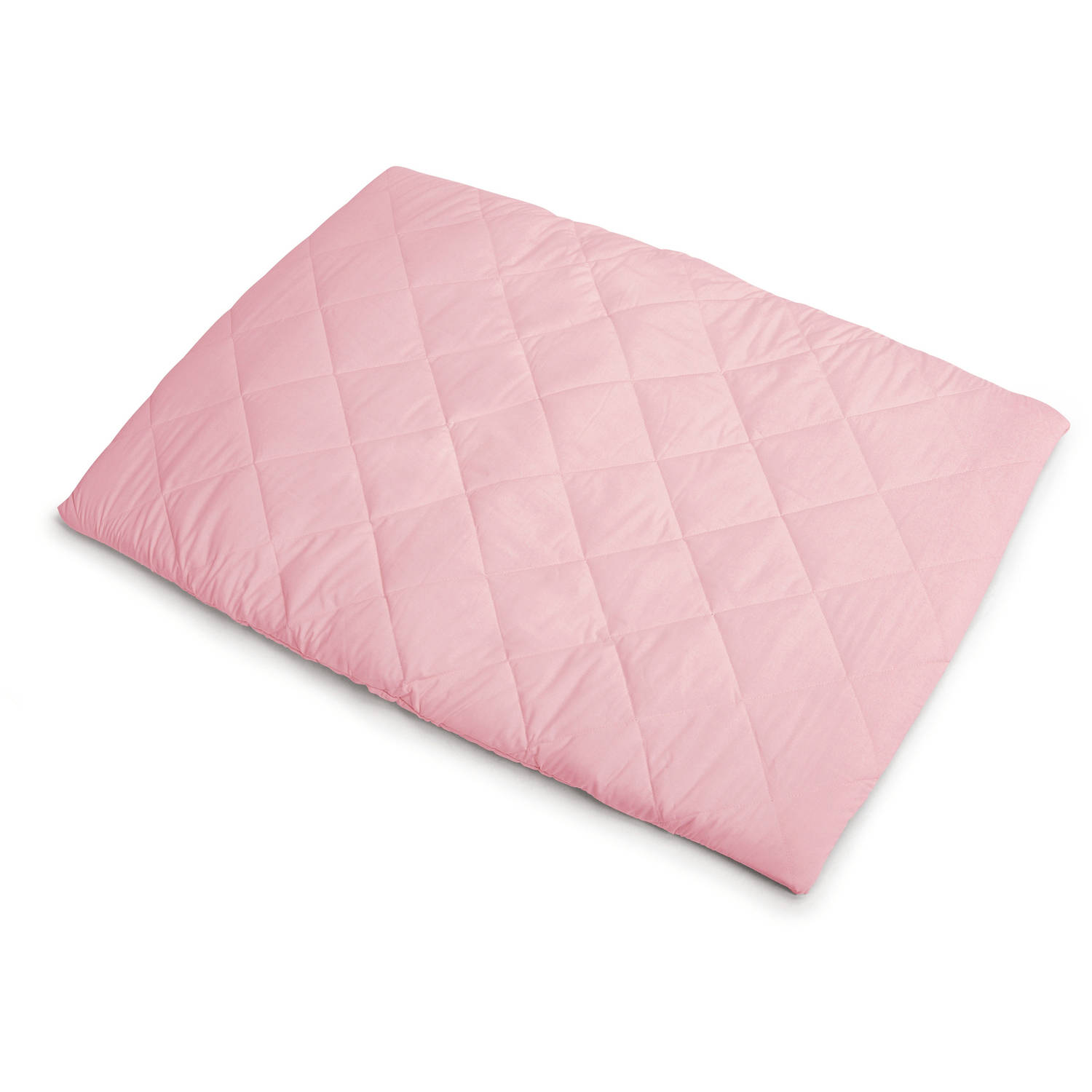 Graco Pack 'n Play Playard Sheet, Quilted, Powder Pink