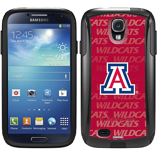 University of Arizona Repeating Design on OtterBox Commuter Series Case for Samsung Galaxy S4