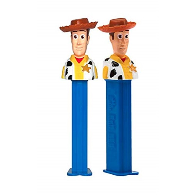Brand New in Package Toy Story WOODY Pez Candy Dispenser plus Candy