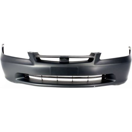 Go-Parts OE Replacement for 1998 - 2000 Honda Accord Front Bumper Cover 04711-S84-A90ZZ HO1000178 Replacement For Honda