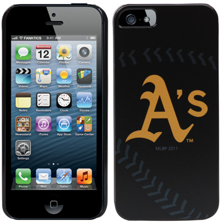 Oakland Athletics Case (Oakland Athletics iPhone 5 Snap-On Case - No Size )