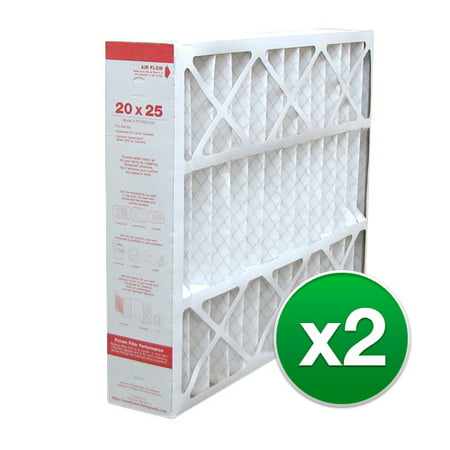 20x25x4 Air Filter Replacement for Honeywell AC & Furnace MERV 11 ( 2 Pack )