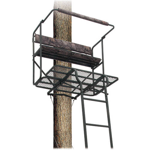 Big Dog Treestands Red Tick II 17.5' Two Man Ladder Stand Pick Up Only Item, 40 x 30.2-Inch thumbnail