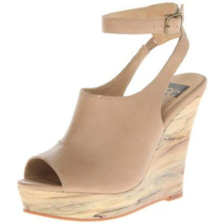 BC Footwear Women's Minute By Minute Wedge Sandal,Tan,10 M US