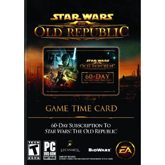 Electronic Arts Star Wars The Old Republic Pre-Paid Time Card, EA, PC  Software, 014633197969