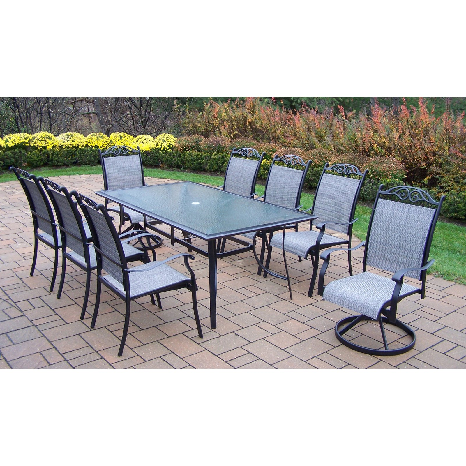 awesome beautiful set chair chairs and metal fresh patio furniture table sling of