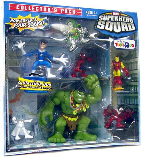 Hasbro Marvel Super Hero Squad Collector's Pack Action Fi...