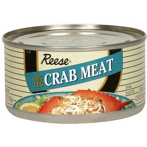 Reese Fancy, 15% Crab Meat, 6 oz (Pack of 12)