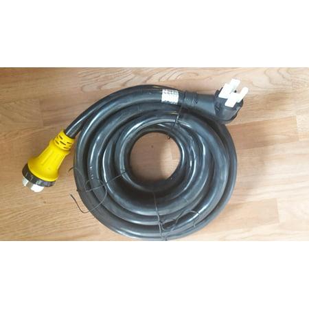 - TruePower 6/3+8/1 36 foot 50 amp RV Power Cord w/ Twist Lock Locking Connector
