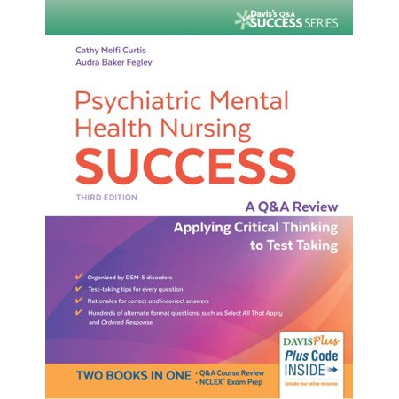 Psychiatric Mental Health Nursing Success : A Q&A Review Applying Critical Thinking to Test (Scientists Best Apply Critical Thinking In Their Work Through)