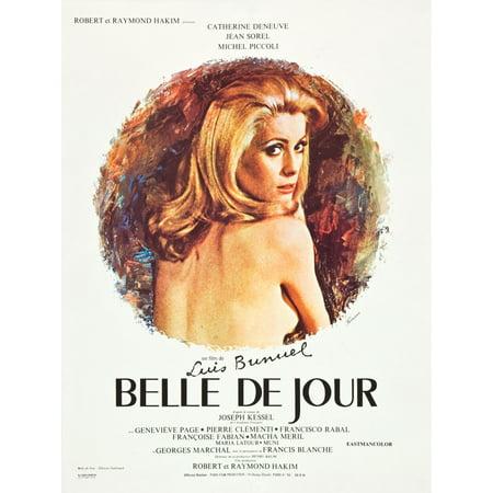 Belle De Jour Catherine Deneuve 1967 Movie Poster Masterprint](Belles Photos De Halloween)
