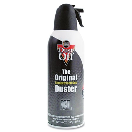 Disposable Compressed Gas Duster (Falcon Dust-Off - XL Safety Compressed Gas Duster, 10 oz - 1)