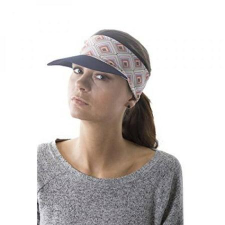 Slope - Slope Sun Visor Hat with Ponytail Hole Multi-Color Head-wrap for  Active Lifestyle Women - Diamond - Walmart.com ceb60c86569
