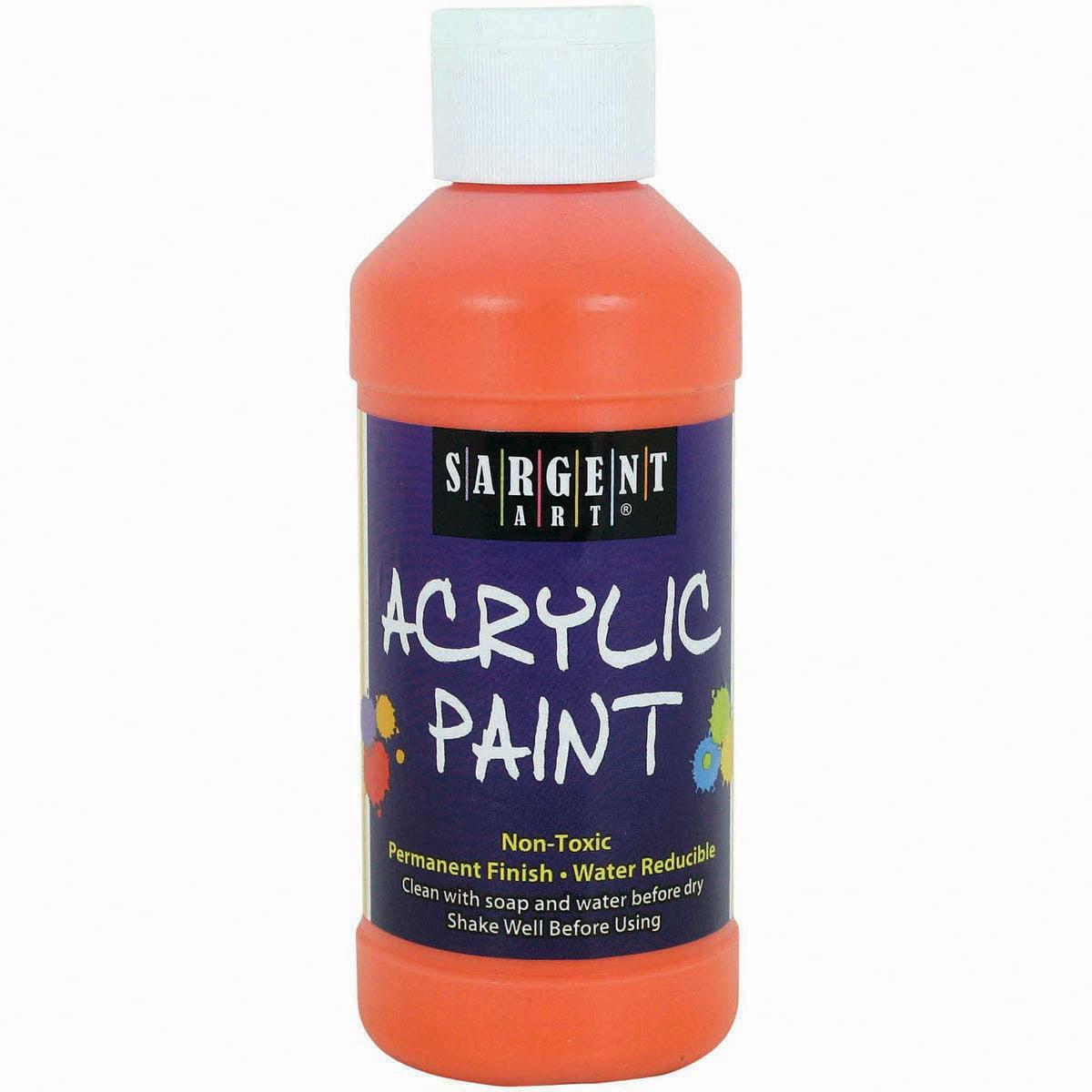 Acrylic Paint 8Oz-Orange - image 1 de 1