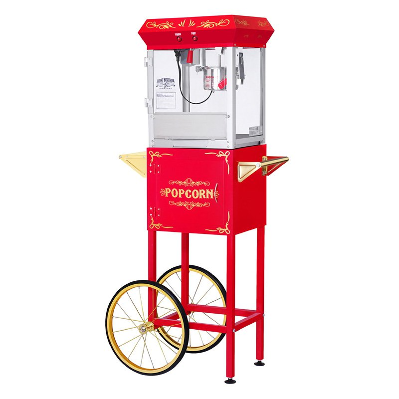 Great Northern Popcorn GNP-400 All Star Popcorn Machine with Cart
