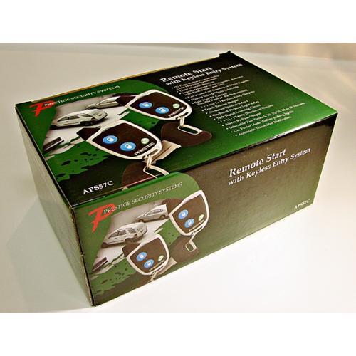 Audiovox Prestige APS57CA Auto Car Remote Start & Keyless Entry APS57C