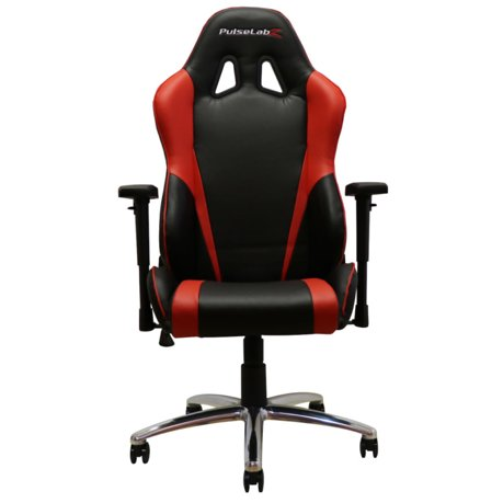 Pulselabz Challenger Series Office Gaming Chair Red Black