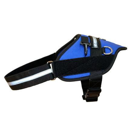 Blue Professional Service Dog Harness Redline K9 ()