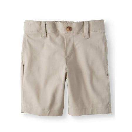 Toddler Boys School Uniform Super Soft Flat Front Shorts - Toddler Cheerleading Uniforms