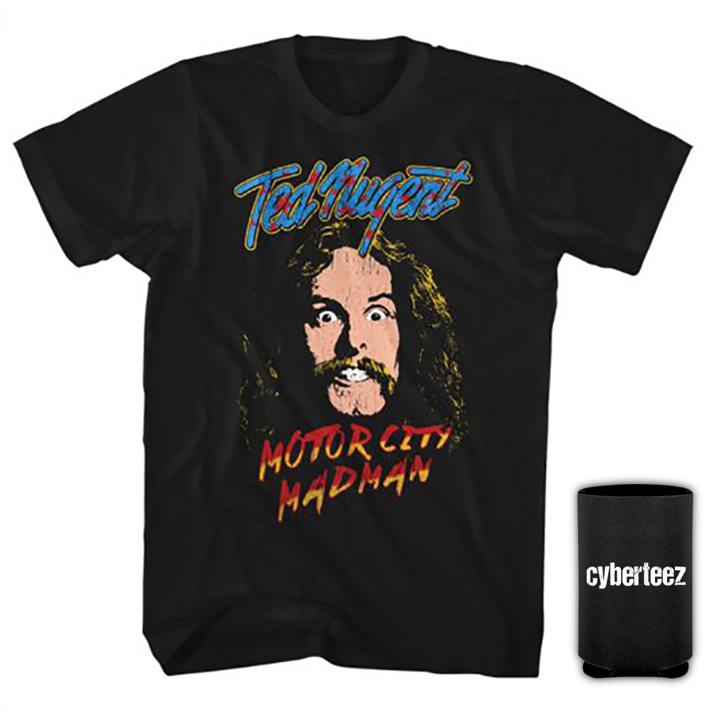 Ted Nugent Madman Adult Tank Top