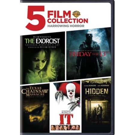5 Film Collection: Harrowing Horror Collection (DVD) (Halloween Horror Film Quiz)