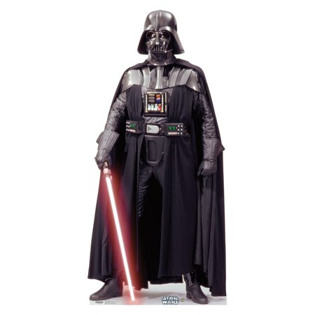 Darth Vader (Star Wars) Cardboard Stand-Up, 6ft - Star Wars Cardboard