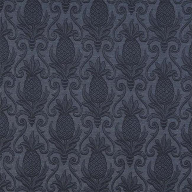 Designer Fabrics E522 54 in. Wide Olive Green, Pineapple Jacquard Woven Upholstery Grade Fabric