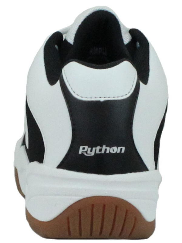 Shoe Width Indoor Black Mid Size Racquetball EE Python Wide Squash, Badminton, Volleyball