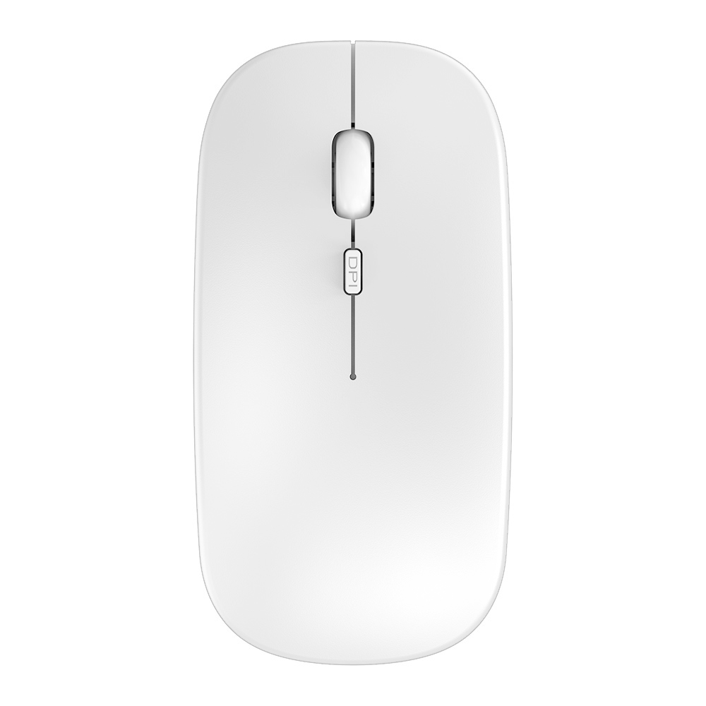Alician M103 Rechargeable Wireless Mouse Mute 2.4G Receiver One Click Back Built-in Lithium Battery Mouse Blue