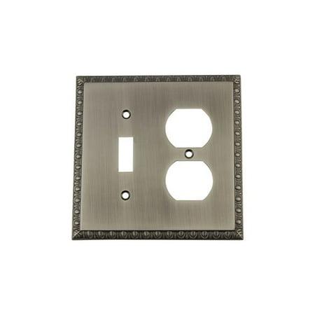 Nostalgic Warehouse Egg Dart Light Switch Plate