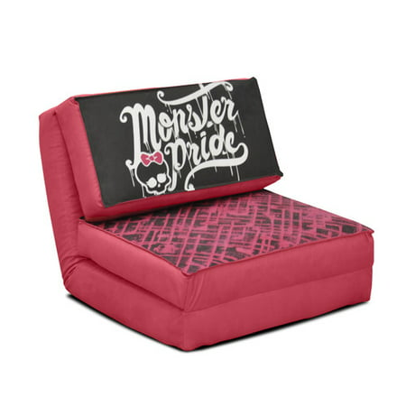 Your Zone Mattel Monster Pride Flip Kids Chair Available In
