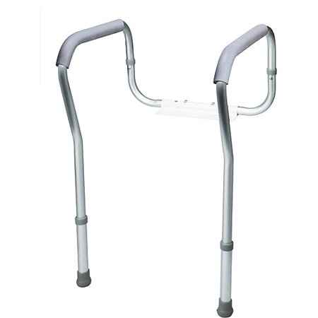 Carex Toilet Rail Safety Frame with Adjustable Height. Carex Toilet Rail Safety Frame with Adjustable Height   Walmart com