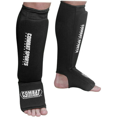 Combat Sports Washable Combination Cloth Shin Instep Guards